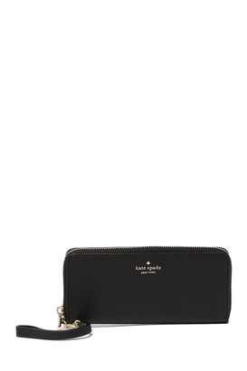 Kate Spade Connie Slim Leather Continental Wallet