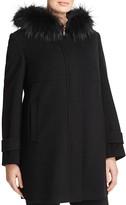 BASLER PLUS Fur Trimmed Zip Coat