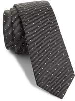 The Kooples Dot Silk Skinny Tie