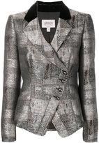 Armani Collezioni asymmetric blazer