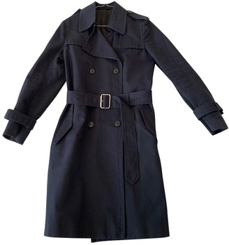 Filippa K Blue Cotton Coat for Women