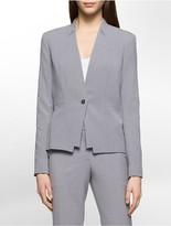 Calvin Klein Luxe Single Button Suit Jacket