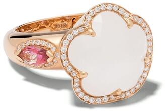 Pasquale Bruni 18kt rose gold diamond Bon Ton ring