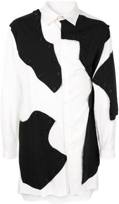 Yohji Yamamoto Detachable Bottom Long Shirt