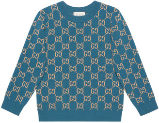 Gucci Children's GG wool jumper