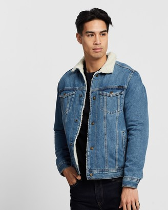 Jack and Jones Sherpa Denim Jacket