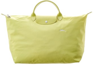 Longchamp Le Pliage Club Large Nylon Top Handle Tote