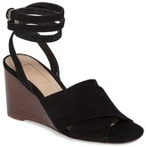 Topshop Whirl Cross Strap Wedge (Women)