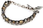 M. Cohen Trebuchet beaded chain bracelet