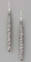 CC Skye Pave Spear Earrings