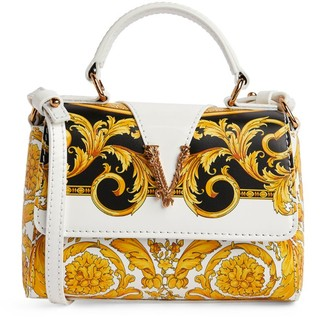 Versace Virtus Baroque Print Cross-Body Bag