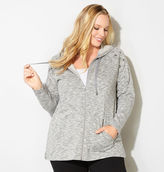 Avenue Spacedye Grommet Shoulder Active Jacket