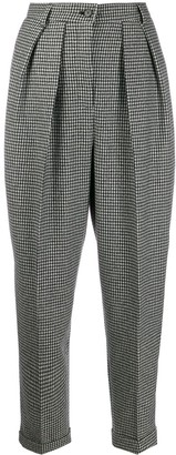 J.W.Anderson Check Pattern Trousers