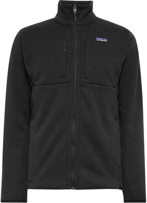 Patagonia Better Sweater Slim-Fit Fleece-Back Knitted Jacket