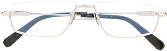 Brioni Rectangle Frame Glasses