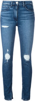 3x1 slit ankles cropped jeans - women - Cotton/Polyamide/Spandex/Elastane - 25