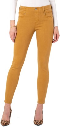 Liverpool Los Angeles Gia Glider Ankle Skinny Jeans