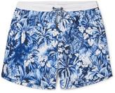 HUGO BOSS Mid-Length Printed Swim Shorts