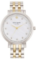 Kate Spade Women's 'Monterey' Crystal Dial Bracelet Watch, 38Mm