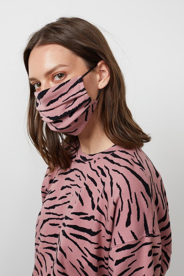 Thumbnail for your product : Velvet by Graham & Spencer Viena Printed Face Mask