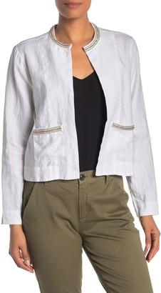 Tommy Bahama Embellished Lux Linen Jacket