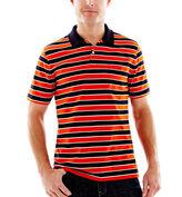 JCPenney St. John's Bay Bar-Striped Pocket Polo