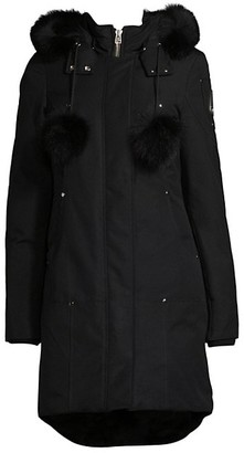 Moose Knuckles Stirling Fox Fur-Trim Parka