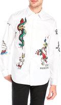 Love Moschino Graphic Print Sport Shirt