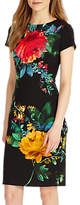 Phase Eight Maddie Placement Print Dress, Multi