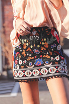 Umgee USA Embroidered Skirt