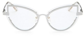 Le Specs Luxe Adulation Clear Cat Eye Glasses