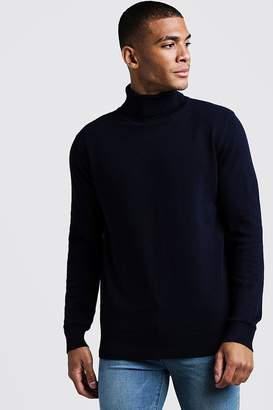 boohoo Roll Neck Sweater
