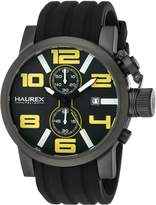 Haurex Italy Men's 6N506UYN TURBINA II Stainless Steel Watch