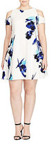 Lauren Ralph Lauren Plus Floral Crepe Dress