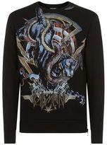 Balmain Printed Panther Sweater