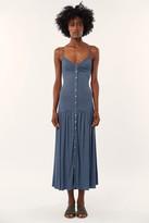 Mara Hoffman Knit Drop Waist Midi Dress