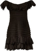 Zimmermann Eight Off Shoulder Mini Dress