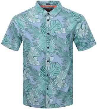 Superdry Short Sleeve Seattle Skate Shirt Blue