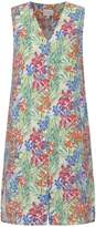 East Linen Aloha Print Dress