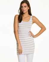 Le Château Stripe Jersey Sleeveless Tunic