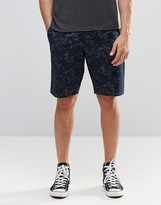 French Connection Lawson Printed Marble Chino Short