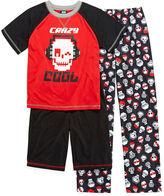 JCPenney JELLIFISH KIDS Jelli Fish Kids 3-pc. Crazy Cool Pajama Set - Boys 4-16