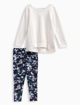 Splendid Little Girl Allover Print Floral Legging Set