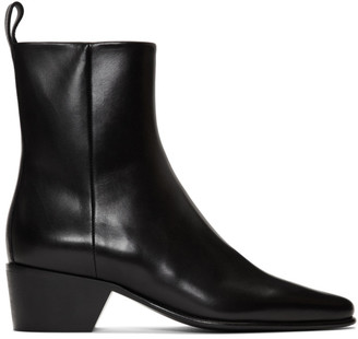 Pierre Hardy Black Reno Ankle Boots