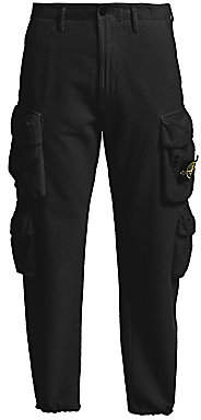 Stone Island Men's Fleece Cargo Pants