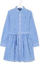 Ralph Lauren long-sleeved shirt dress