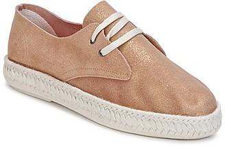 Bunker IBIZA women's Espadrilles / Casual Shoes in Gold