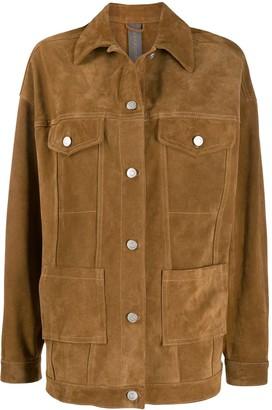 Giorgio Brato oversized western jacket