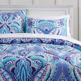 Kaleidoscope Comforter, XL Twin, Blue Multi