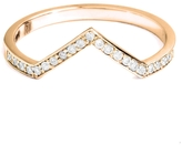 ONE JEWELRY Val Stackable Diamond Ring